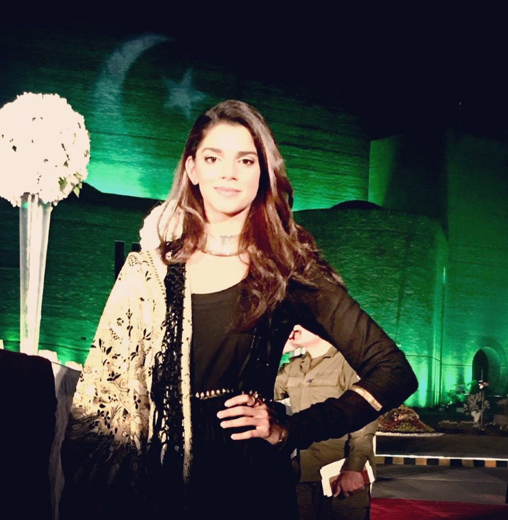 60 Pictures of Sanam Saeed in black Dress