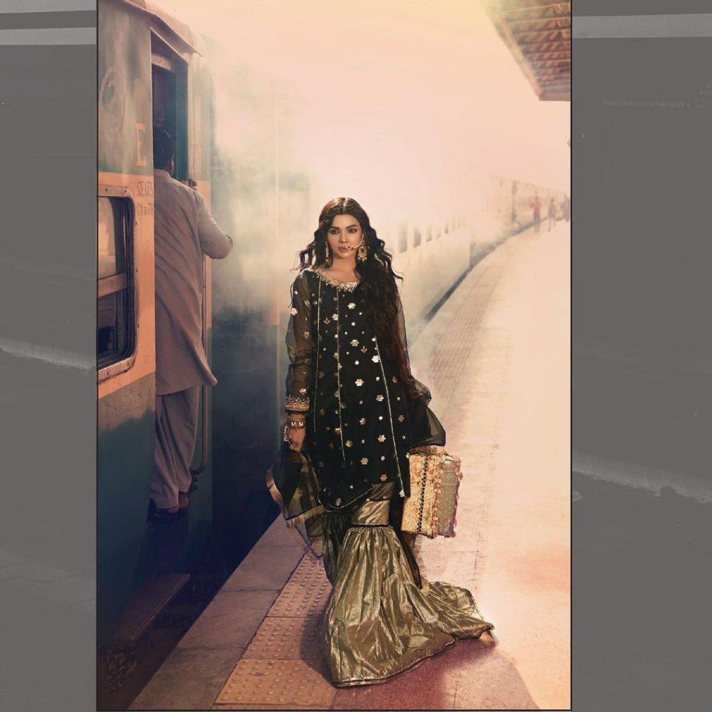 Sara Loren Pulls Off Traditional Looks Like A Pro In Her Latest Shoot