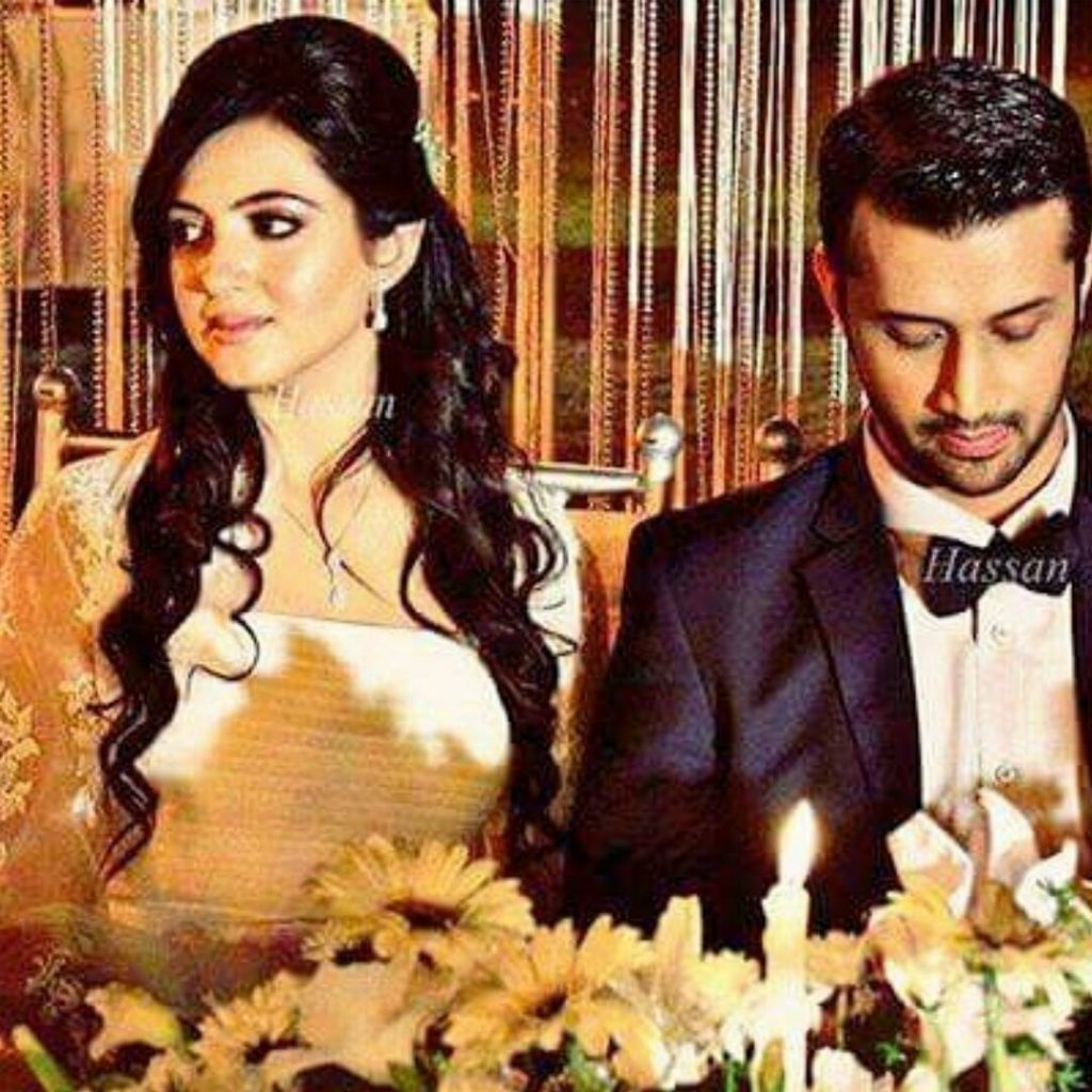 50 Sweetest Pictures of Atif Aslam With Beautiful Wife
