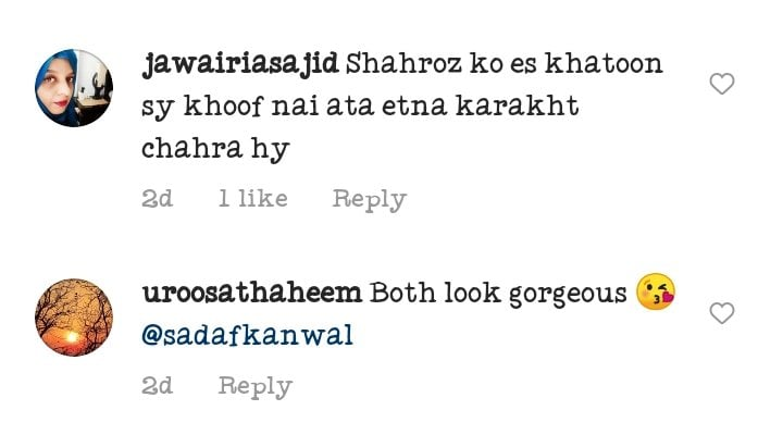 Public Criticism On Sadaf Kanwal And Shahroz Sabzwazri