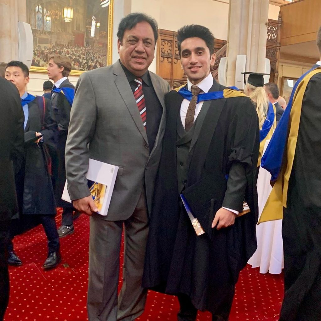 In Which Drama Sohail Ahmed's Son Is Appearing Currently ?
