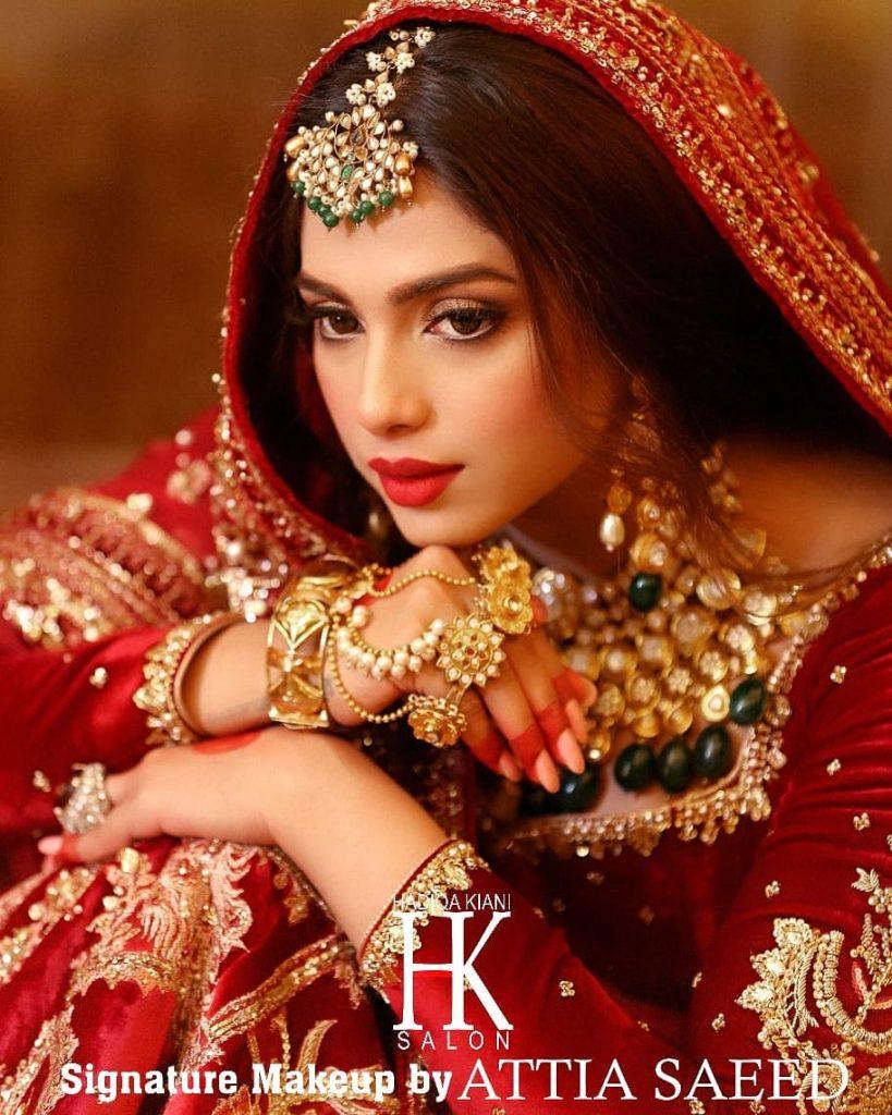 Sonya Hussyn Stuns In Her Latest Bridal Shoot