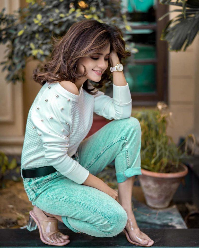 Sumbul Iqbal Stuns In Her Recent Winter Looks