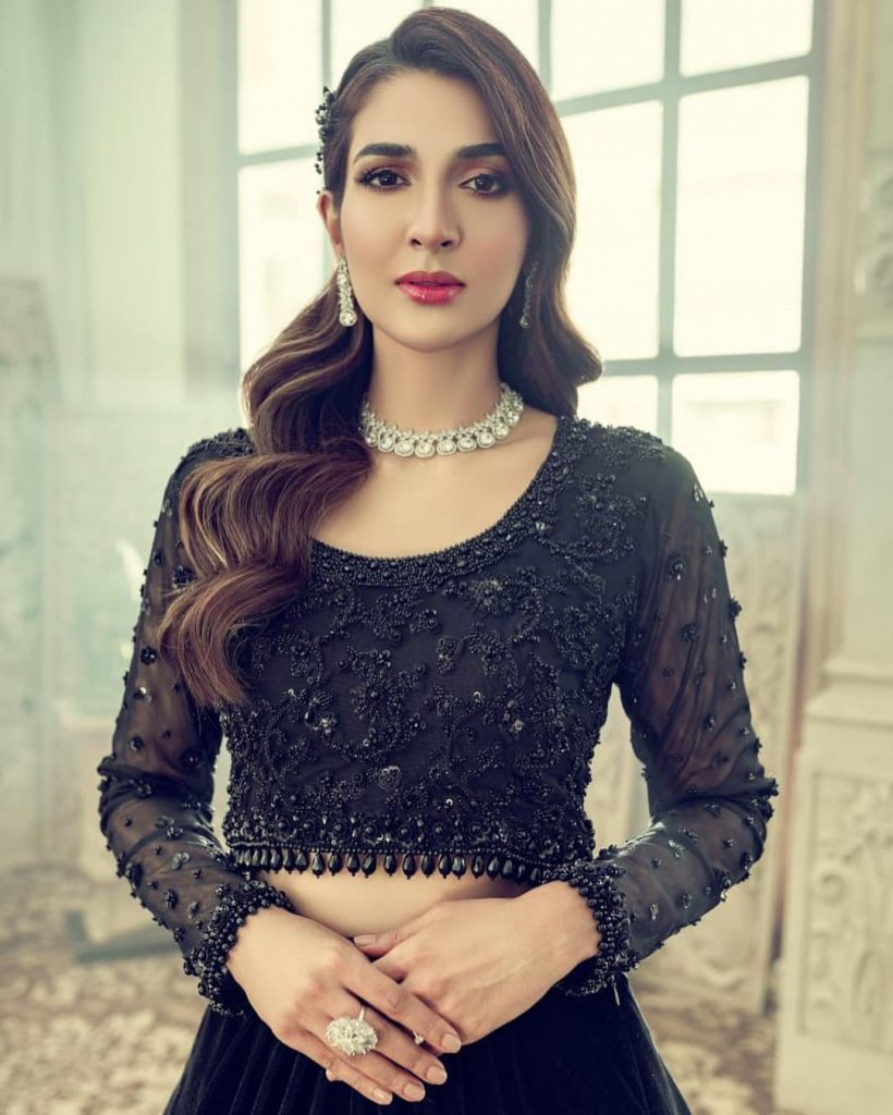 Rabab Hashim Stuns In Exquisite Black Outfit