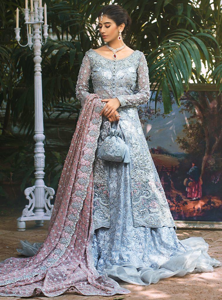 Syra Yousaf's Latest Bridal Shoot For Zainab Chottani Official