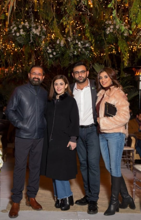 Ammara Hikmat Hosts Dinner In Honor Of Turkish Actor And Producers