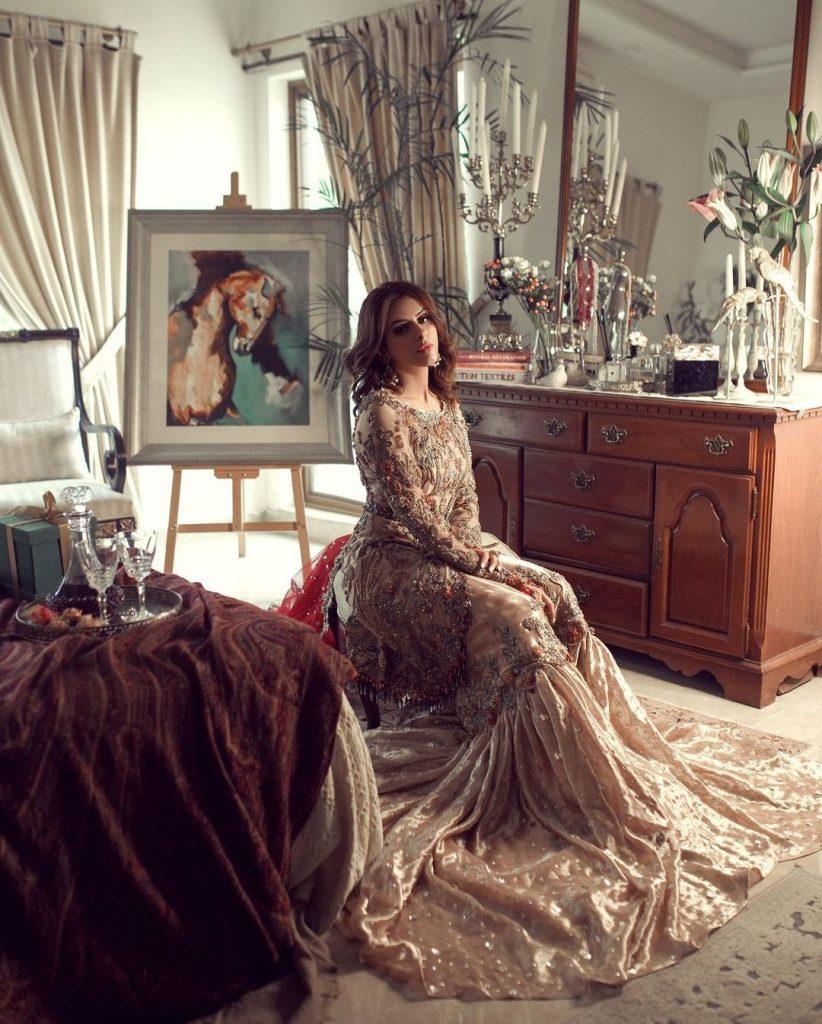 Waliya Najib's Looks Ravishing In Her Latest Bridal Shoot