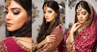 Zainab Shabbir Looks Vibrant In Her Latest Bridal Shoot