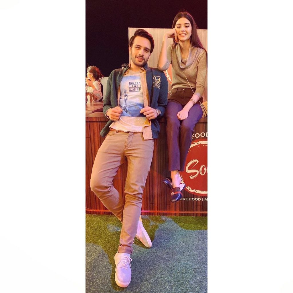 Zainab Shabbir And Usama Khan Adorable Pictures Together