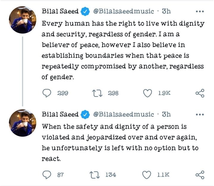 Bilal Saeed Came Up With His Side Of Story After His Video Went Viral