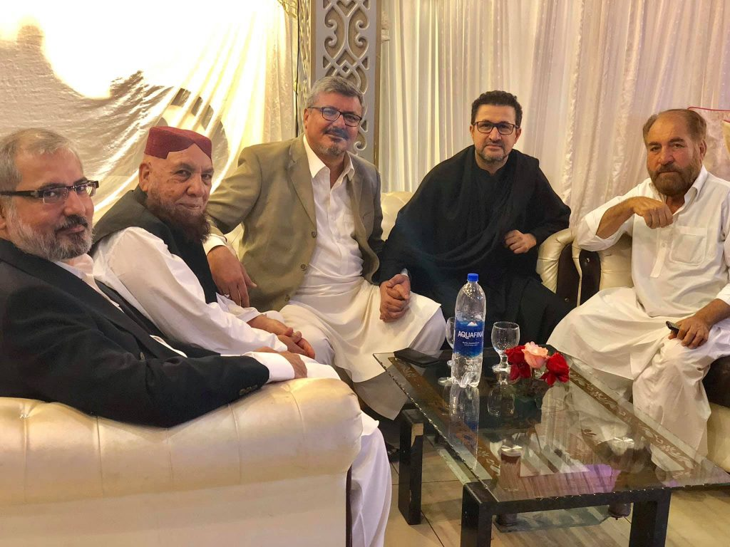 Never Seen Photos of Rahim Shah With Family and Relatives