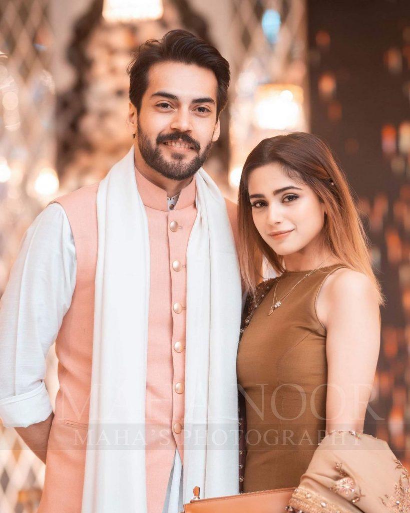 Aima Baig And Komal Baig Spotted At Shahbaz Shigri's Sister's Wedding