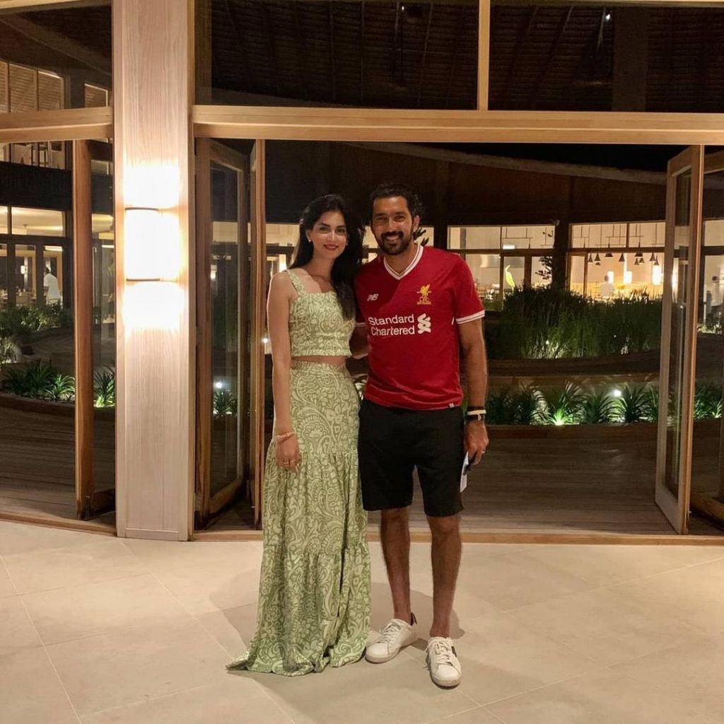 Aisam-ul-Haq Vacationing With Wife In Maldives