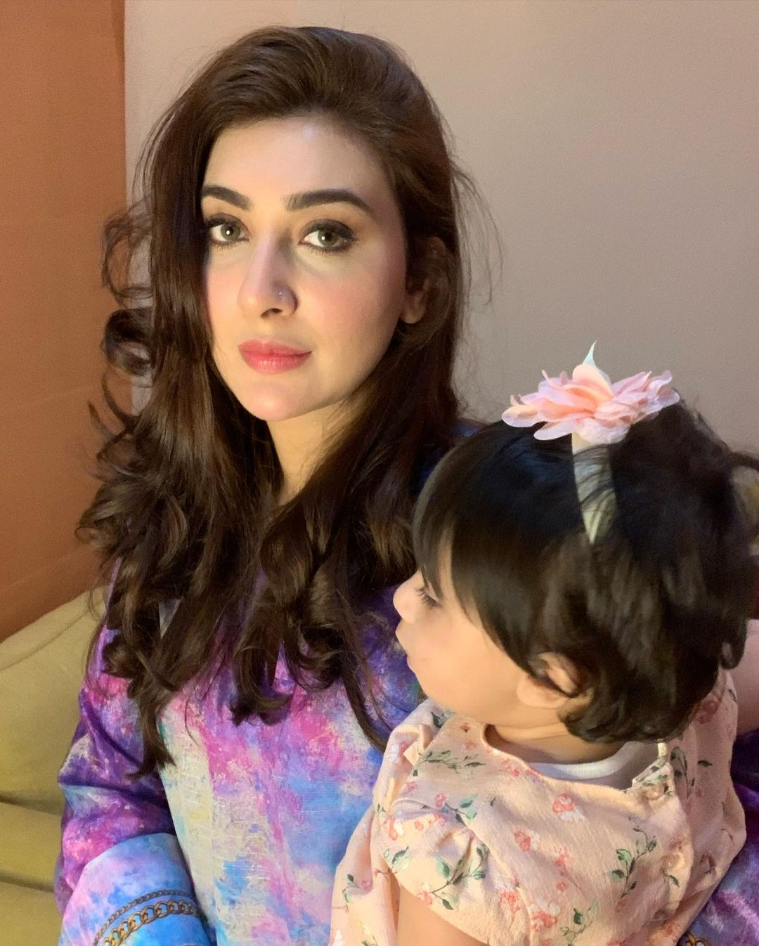 Actress Aisha Khan with her Husband and Daughter - Latest Pictures