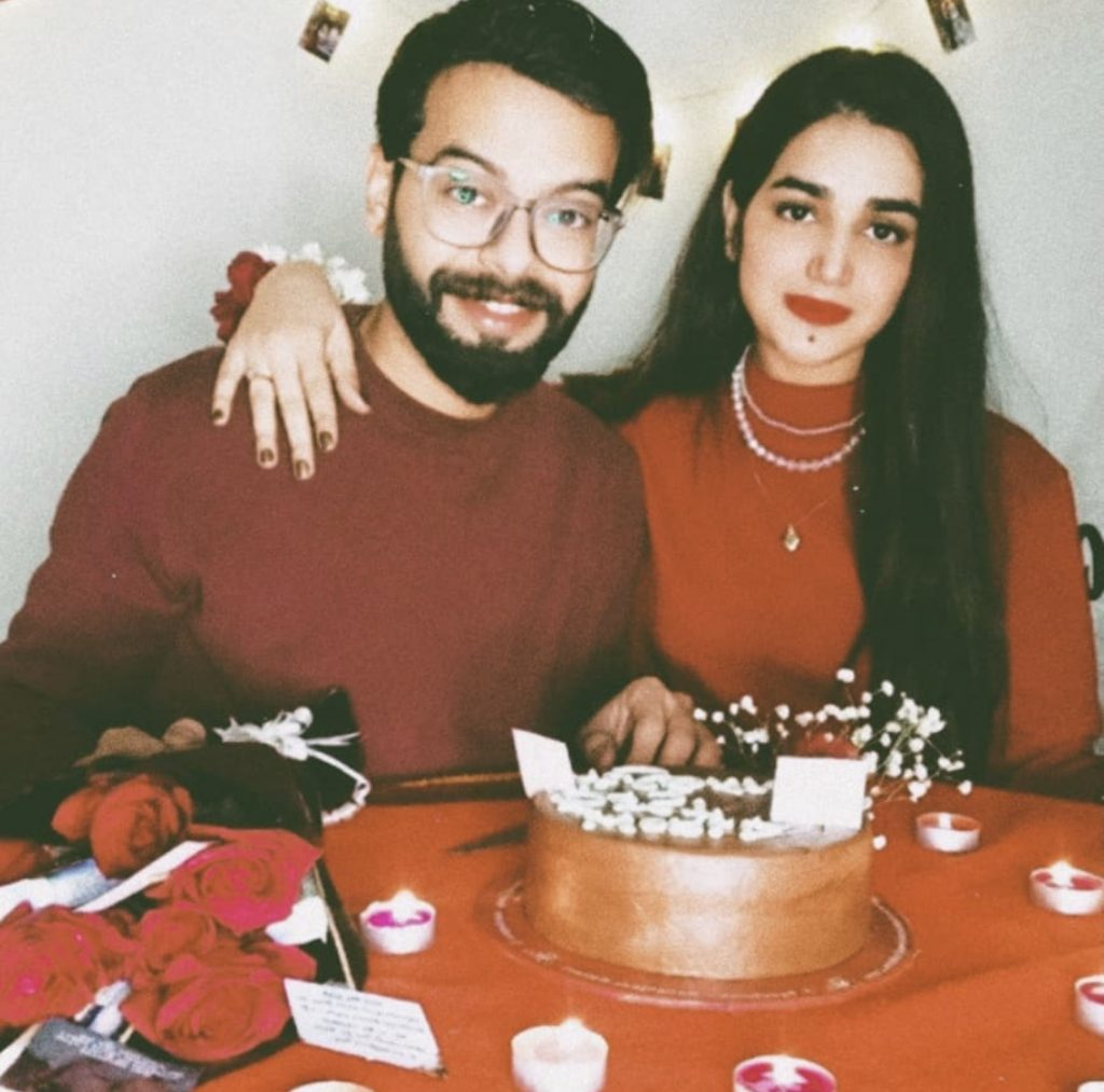 Anum Fayaz Latest Pictures With Her Husband