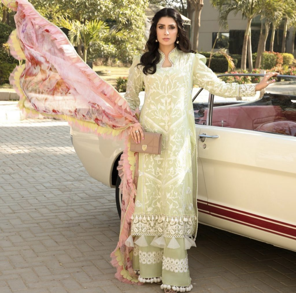 Ayeza Khan Latest Photoshoot For Ansab Jahangir