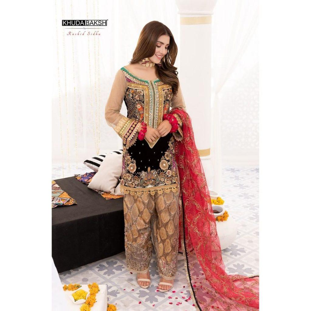 Ayeza Khan Looking Ethereal Wearing Gorgeous Luxury Ensembles