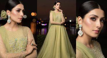 Ayeza Khan Looks Gorgeous At Launch Of Himalaya Pakistan