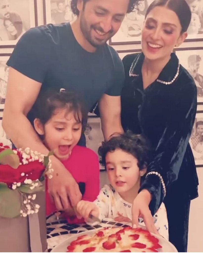 Danish Taimoor Celebrated His Birthday With Family