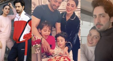 Danish Taimoor Celebrating His Birthday With Wife And Kids