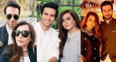 Emmad Irfani Adorable Pictures With His Wife