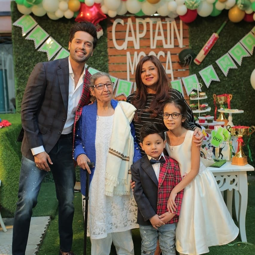 New Pictures from Fahad Mustafa Son Birthday Party
