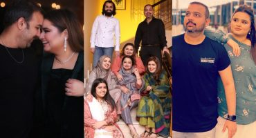 Faiza Saleem Adorable Pictures With Family