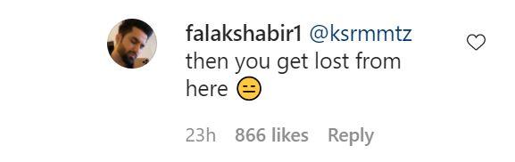 Falak Shabir Hits Back At A Recent Troll