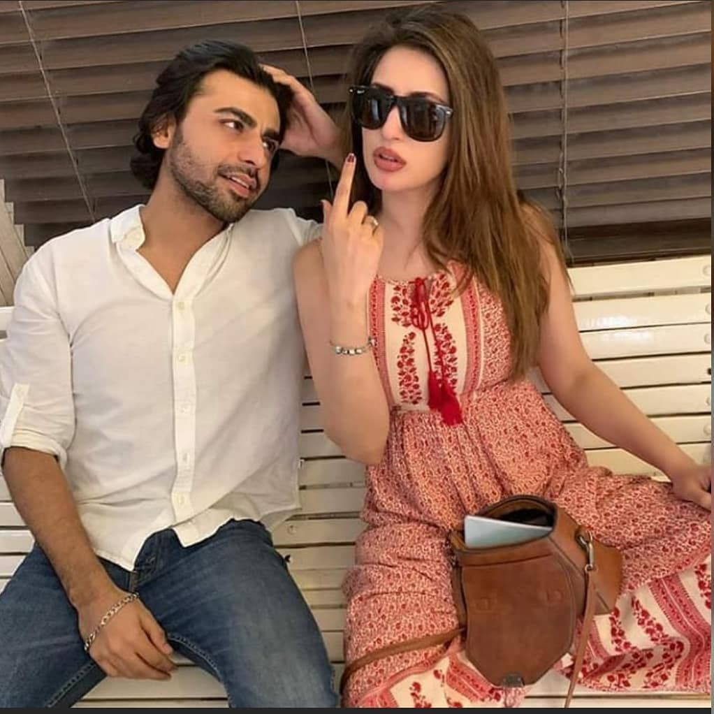 Latest Photoshoots of Farhan Saeed With Other Actresses