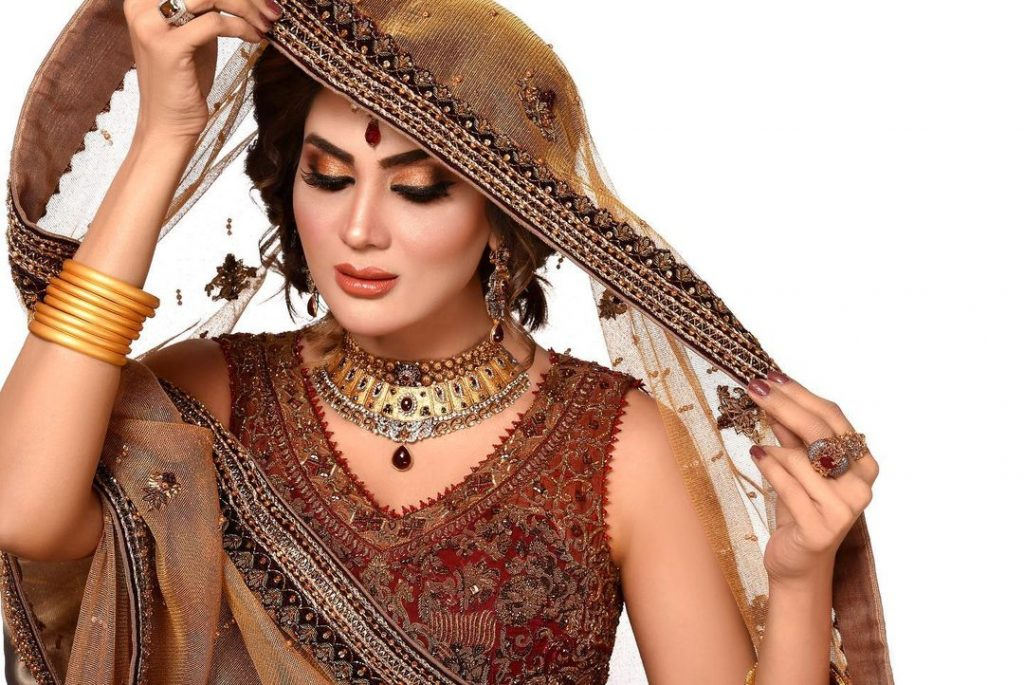 Fiza Ali Pulls Off Traditional Bridal Look Like A Pro