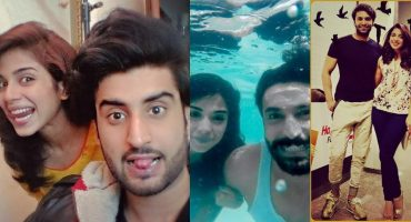 Ravishing Pictures of Sonya Hussyn With Colleagues