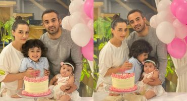 Momal Sheikh's Baby Girl Turns Six Months Old