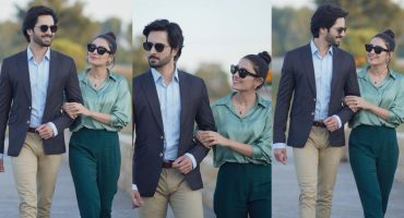 Latest Couple Shoot Of The Ultimate Duo Ayeza Khan And Danish Taimoor