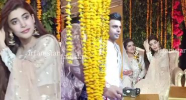 Urwa And Farhan Spotted in Qasim Ali Mureed Mehndi