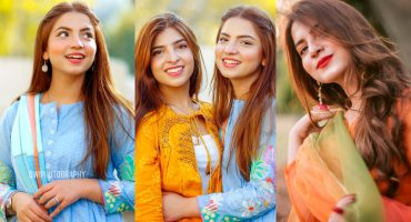 Viral Girl Dananeer with her Sister Nafayal - Photoshoot