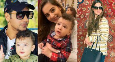 Aiman Khan's Adorable Video with Faysal Qureshi's Son Farmaan