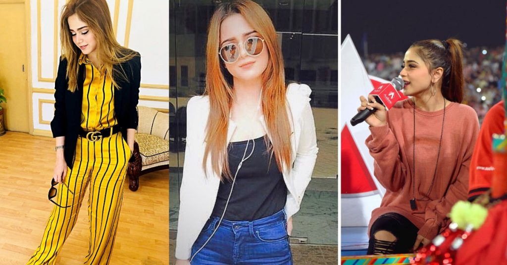Latest Pictures of Aima Baig in a sporty look