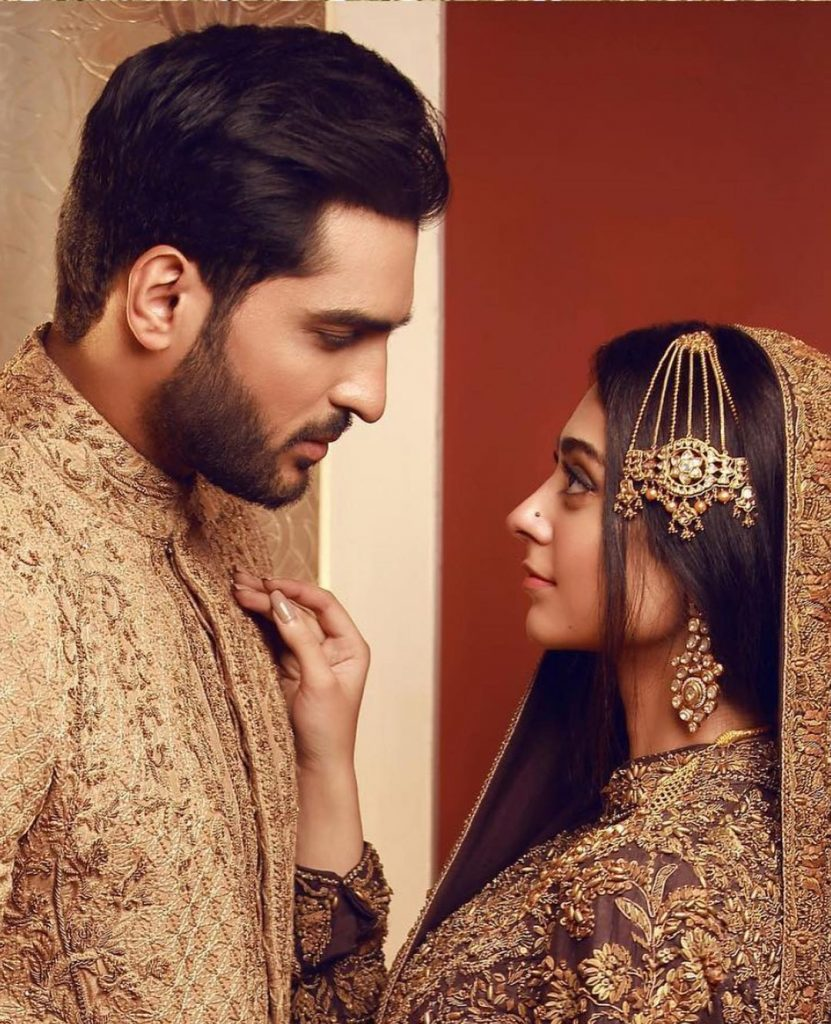 Latest Shoot Of Noor Zafar Khan And Omer Shahzad For HSY