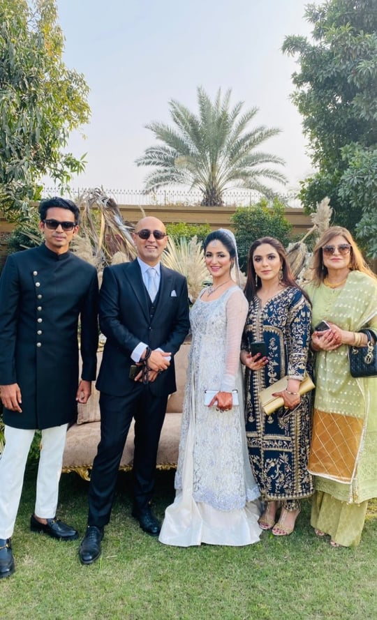 Ahmed Ali Butt's Brother Hamza Butt - Reception Pictures