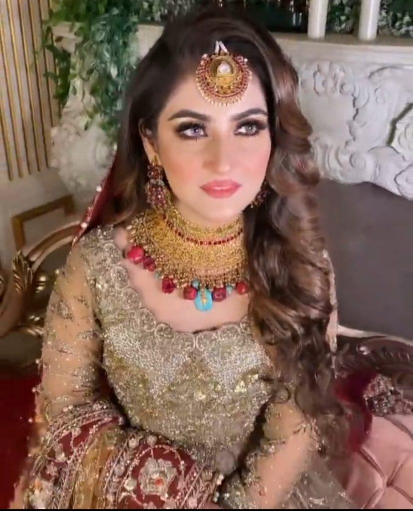 Hiba Bukhari Beautiful Bridal Shoot