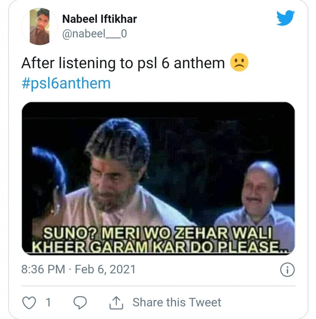 Social Media is Pouring Out With Memes On PSL 6 Anthem