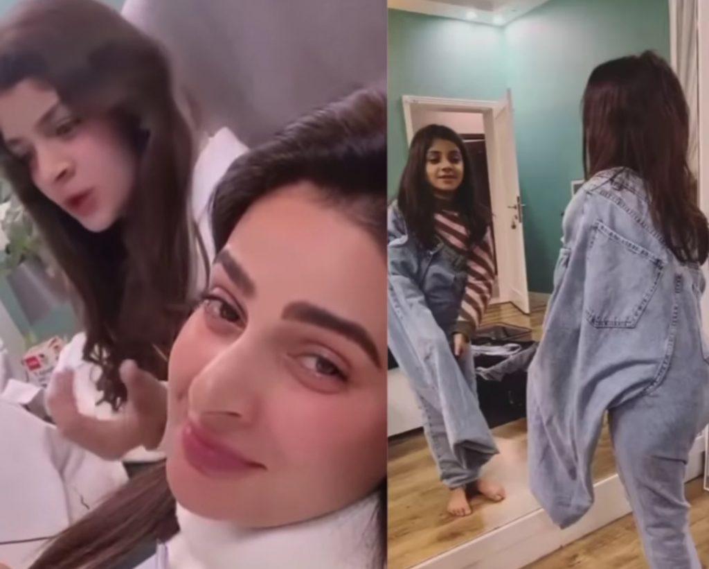 Saba Qamar Shares Cute Video of Niece - Fans shower love