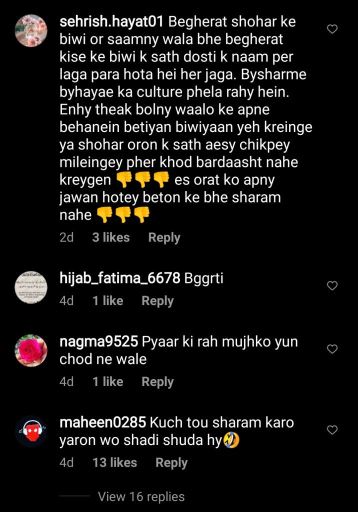 Fans are UnHappy With Hira Mani and Affan Waheed BTS Video