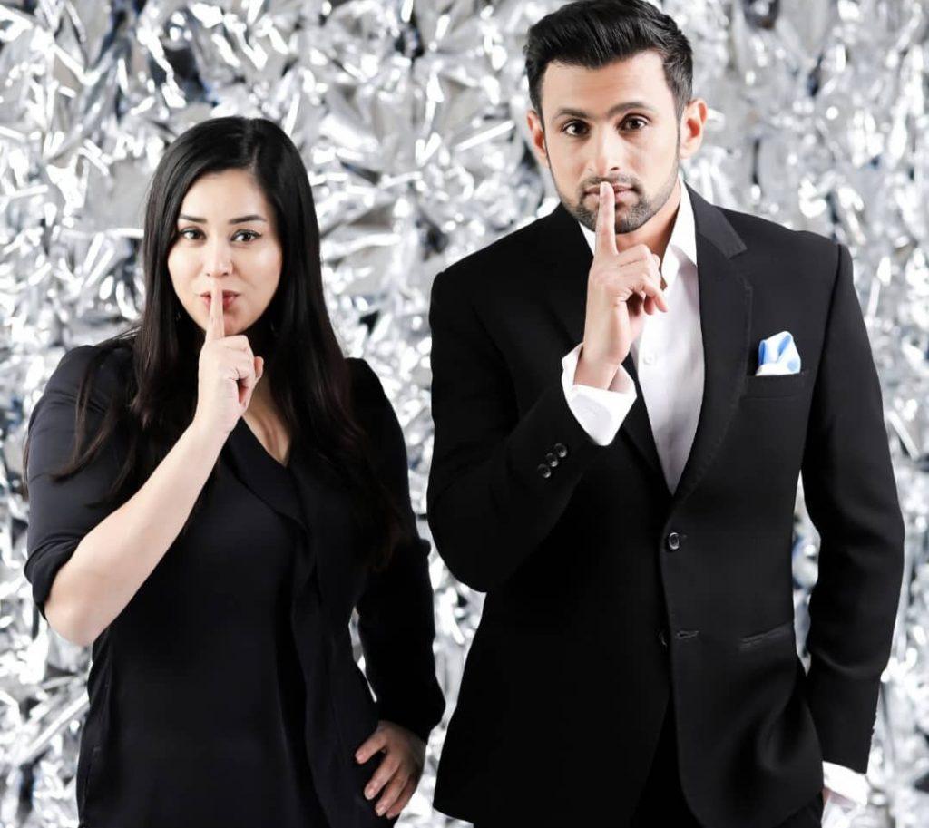 Komal Rizvi and Shoaib Malik Beautiful Pictures