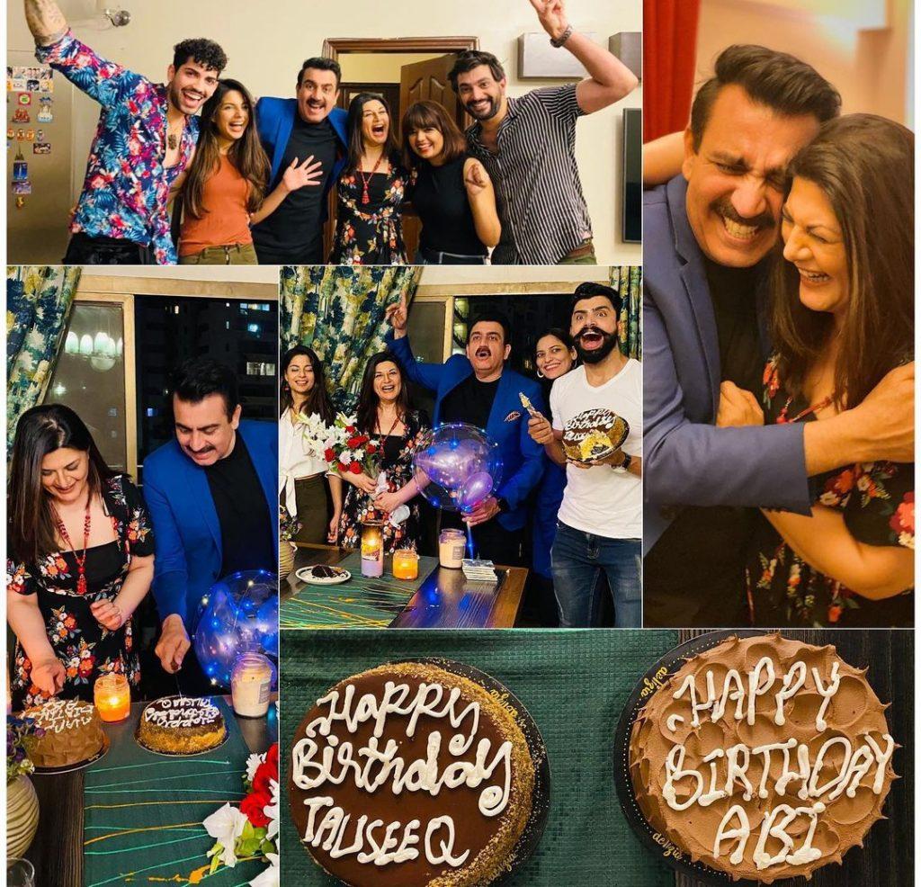Tauseeq Haider Celebrates Birthday With Friends