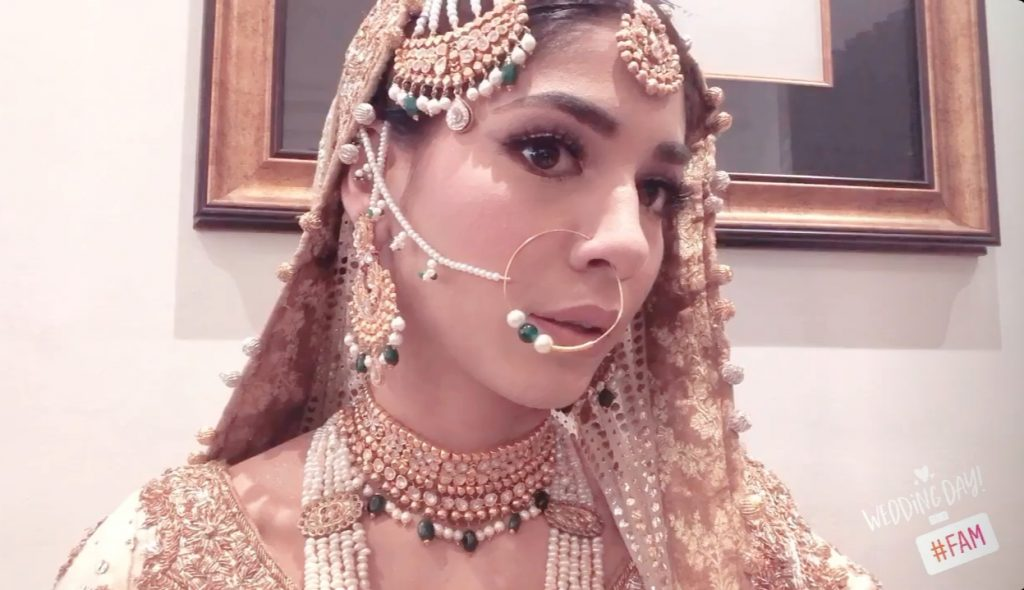 Sanam Jung's Sister Amna Jung's Wedding Pictures