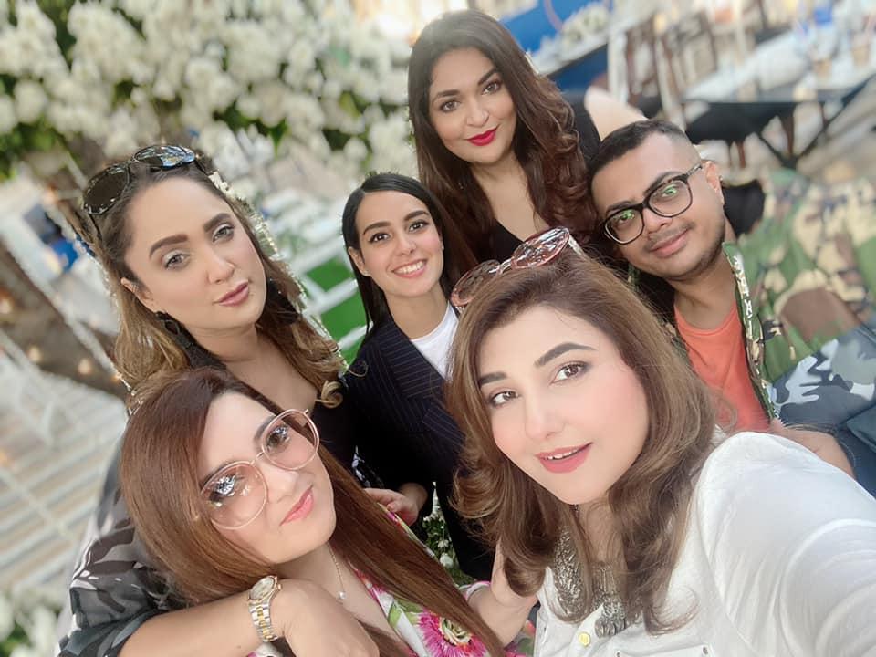 Javeria Saud Latest Pictures From Nida Yasir's Birthday
