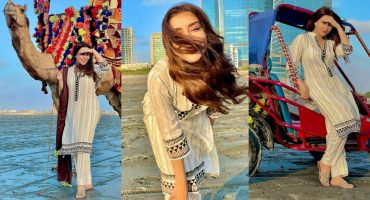 Maira Khan Having Blissful Time At The Beach
