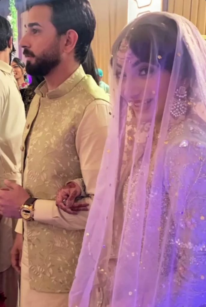 Mariam Ansari Tied The Knot With Son Of Moin Khan