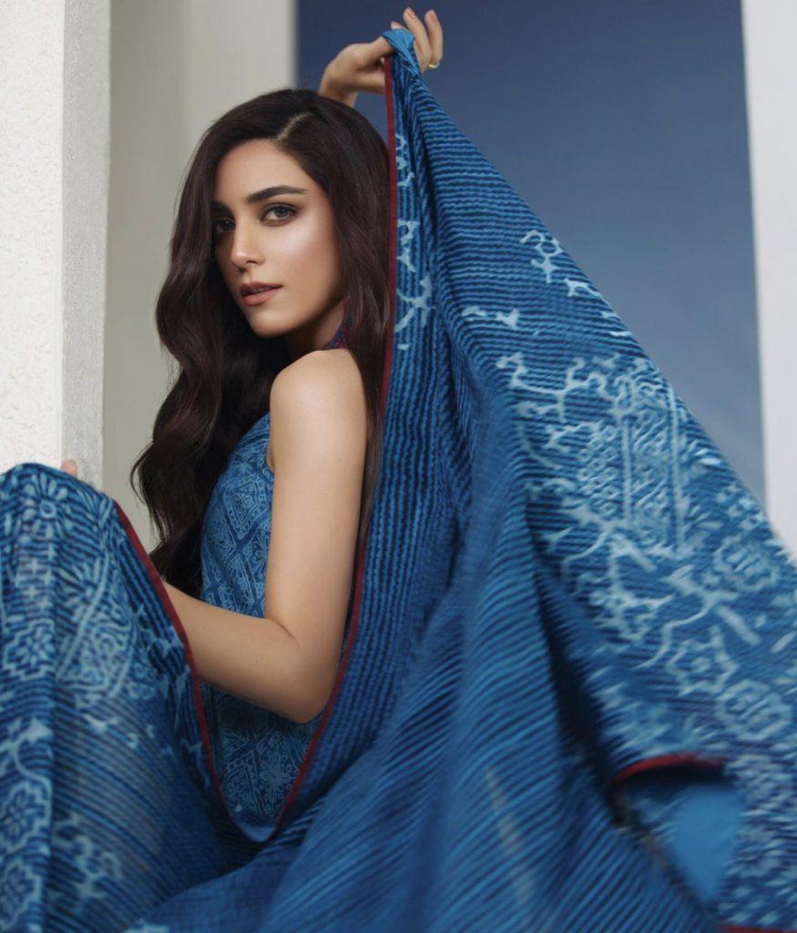 Maya Ali's Latest Photoshoot For Alkaram Studio